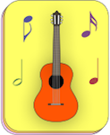 read guitar notes, flash cards